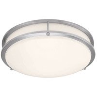 Access 20502LEDD-BS/ACR Solero II LED 17 inch Brushed Steel Flush Mount Ceiling Light