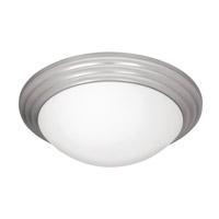 Access 20652LEDD-BS/OPL Strata LED 16 inch Brushed Steel Flushmount Ceiling Light