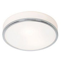 Access 20670LEDDLP-BS/OPL Aero LED 10 inch Brushed Steel Flush Mount Ceiling Light