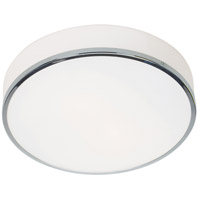Access 20671LEDDLP-CH/OPL Aero LED 13 inch Chrome Flush Mount Ceiling Light
