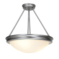 Access Lighting Atom 4 Light Pendant in Brushed Steel 20729-BS/OPL
