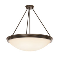 Access Lighting Atom 5 Light Pendant in Oil Rubbed Bronze 20730-ORB/OPL