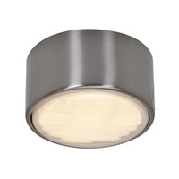 Access Lighting Ares 1 Light Flush or Wall Mount in Brushed Steel 20742LED-BS