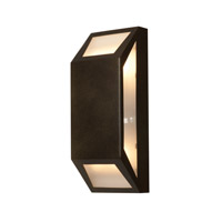 Access Lighting Mission Edge 4 Light Outdoor Wall Light in Bronze 20754-BRZ/FST