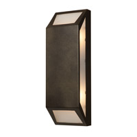 Access Lighting Mission Edge 4 Light Outdoor Wall Light in Bronze 20755-BRZ/FST