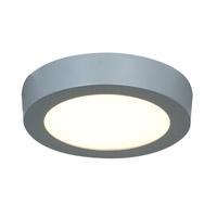 Access Lighting Strike 1 Light Flush Mount in Silver 20770LED-SILV/ACR