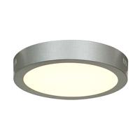 Access 20801LEDD-SILV/ACR Strike 2.0 LED 10 inch Silver Flush Mount Ceiling Light