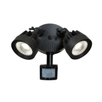Access Lighting Guardian 2 Light Spotlight in Black 20785LED-BL
