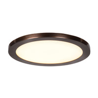 Access 20811LEDD-BS/ACR Disc LED 8 inch Brushed Steel Flush Mount Ceiling Light