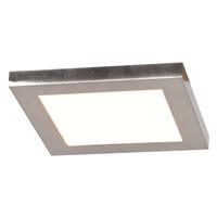 Access 20813LEDD-BS/ACR Boxer LED 6 inch Brushed Steel Flush Mount Ceiling Light