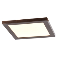 Access 20814LEDD-BRZ/ACR Boxer LED 8 inch Bronze Flush Mount Ceiling Light