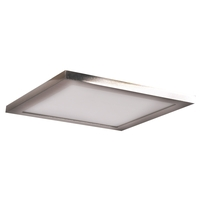 Access 20814LEDD-BS/ACR Boxer LED 8 inch Brushed Steel Flush Mount Ceiling Light