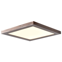 Access 20815LEDD-BRZ/ACR Boxer LED 10 inch Bronze Flush Mount Ceiling Light
