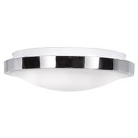 Access 20817LEDD-CH/ACR Lucid LED 12 inch Chrome Flush Mount Ceiling Light