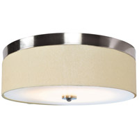 Access 20821LEDD-BS/ACR Mia LED 18 inch Brushed Steel Flush Mount Ceiling Light