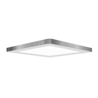 Access 20834LEDD-CH/ACR Modplus LED 9 inch Chrome Flush Mount Ceiling Light Square