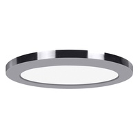 Access 20837LEDD-CH/ACR Modplus LED 9 inch Chrome Flush Mount Ceiling Light Round