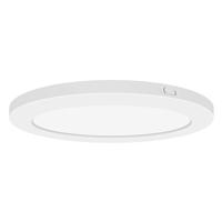 Access 20837LEDD-WH/ACR Modplus LED 9 inch White Flush Mount Ceiling Light Round