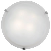 Access Lighting Mona 1 Light Flush Mount in Chrome 23020LED-CH/WH