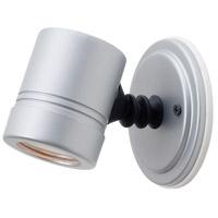 Access 23025MG-SILV/CLR Myra 1 Light Silver Outdoor Spotlight