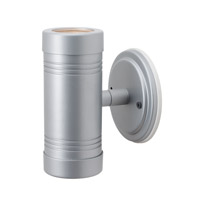 Access Myra LED Outdoor Wall Sconce in Silver 23026LEDMG-SILV/CLR