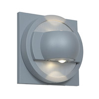 Access Lighting ZyZx 2 Light Outdoor Wall in Satin 23060LED-SAT photo thumbnail