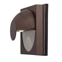 Access Lighting ZYZX 1 Light Wet Location Wallwasher in Bronze with Frosted Glass 23061MG-BRZ/FST