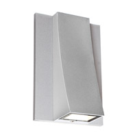 Access Lighting Archer 1 Light Wet Location LED Wallwasher in Satin with Clear Glass 23062MGLED-SAT/CLR