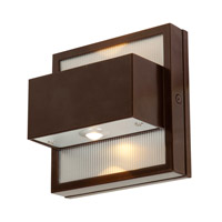 ZyZx LED 5 inch Bronze Wall Washer