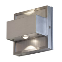 Access Lighting ZyZx 2 Light Wet Location LED Wallwasher in Satin 23064MGLED-SAT