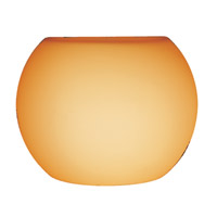 Access Lighting Pumpkin Shade in Amber 23102-14/AMBER