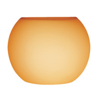 Access Lighting Pumpkin Shade in Amber 23102-8/AMBER