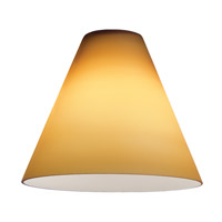 Inari Silk _ Glass Shade in Amber