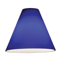 Inari Silk _ Glass Shade in Cobalt