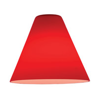 Access 23104-RED Inari Silk _ Glass Shade in Red