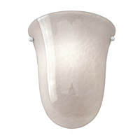Access Lighting Manhattan 2 Light Wall Sconce in Brushed Steel 23109-BS/OPL