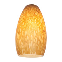 Access 23112-AMST Inari Silk Amber Stone Glass Shade