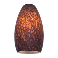 Access Lighting Inari Silk Glass Shade with Brown Stone Glass 23112-BRST