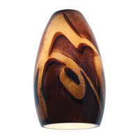 Access 23112-ICA Inari Silk Inca Glass Shade