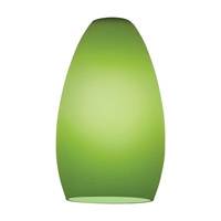 Inari Silk Light Green Glass Shade in Lime Green