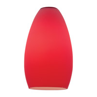 Access 23112-RED Inari Silk Red Glass Shade