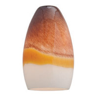 Access Lighting Inari Silk Glass Shade 23112-TRA