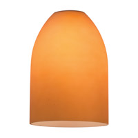 Inari Silk Amber Glass Shade, Dome