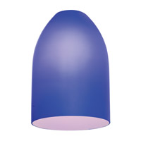 inari silk cobalt blue glass shade dome