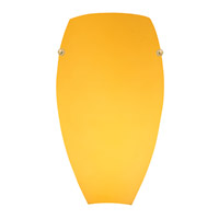 Access Lighting Inari Silk 1 Light Wall Sconce in Orange 23120-ORG photo thumbnail