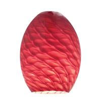 Access 23123-REDFB Firebird Ostrich REDFB Glass Shade in Red Firebird