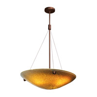 Access Lighting Safari 4 Light Pendant in Bronze 23203-BRZ/SLA