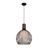 Access 23435-BRZ/OPL Chuki 1 Light 15 inch Bronze Pendant Ceiling Light