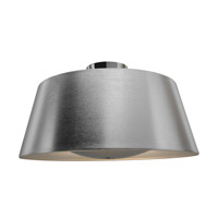 Access 23764-BSL SoHo 3 Light 19 inch Brushed Steel Flush Mount Ceiling Light