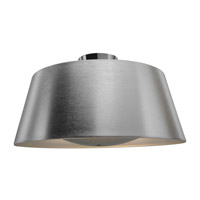 SoHo 3 Light 19 inch Brushed Steel Ceiling Ceiling Light